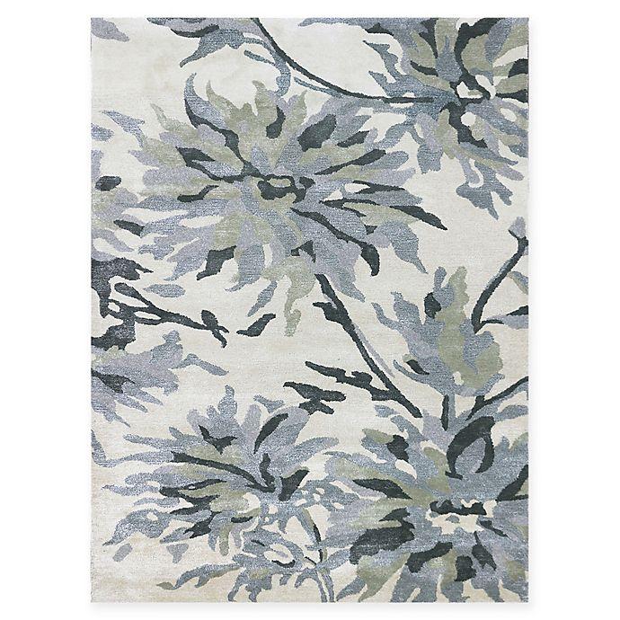 Alternate image 1 for Amer Shimmer Floral 2' x 3' Accent Rug in Ivory