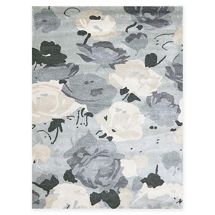 Alternate image 1 for Amer Shimmer Floral 8' x 11' Area Rug in Grey