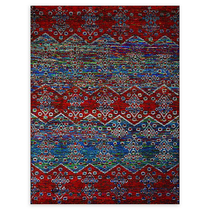 Alternate image 1 for Amer Rugs® Silkshin Hand-Knotted Rug