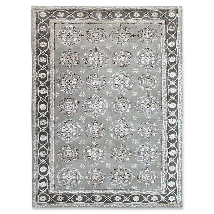 Alternate image 1 for Amer Rugs Urban Medallion 5' x 8' Area Rug in Grey