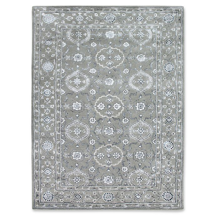 Alternate image 1 for Amer Urban Traditional 7'6 x 9'6 Hand Tufted Area Rug in Silver