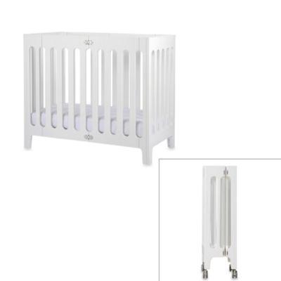 bloom® baby alma™ Urban Folding Cot/Mini Crib in Coconut ...