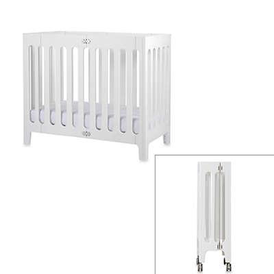 bloom® baby alma™ Urban Folding Cot/Mini Crib in Coconut White
