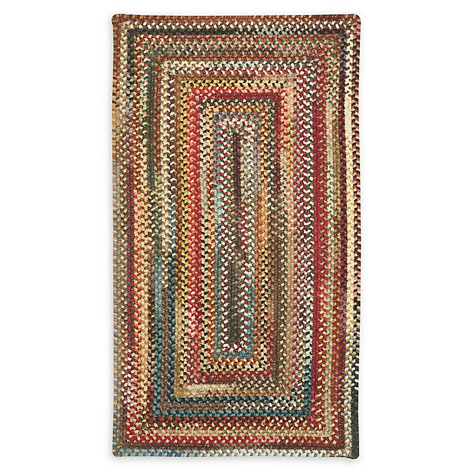 Alternate image 1 for Capel Rugs Eaton Braided Multicolor 2' x 3' Accent Rug