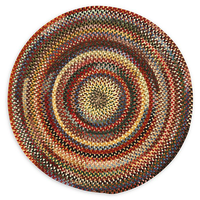 Alternate image 1 for Capel Rugs Eaton Braided Multicolor 5'6 Round Rug