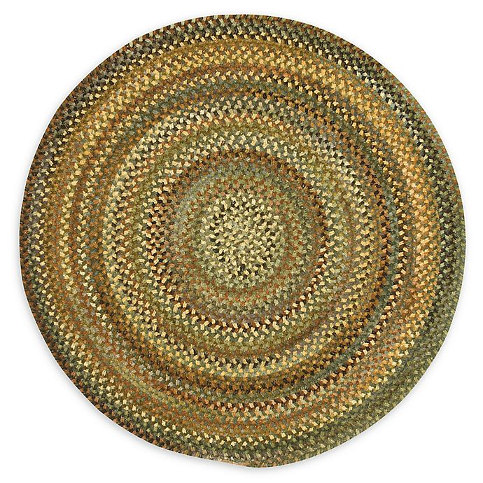 Alternate image 1 for Capel Rugs Eaton Braided 8'6 Round Rug in Green