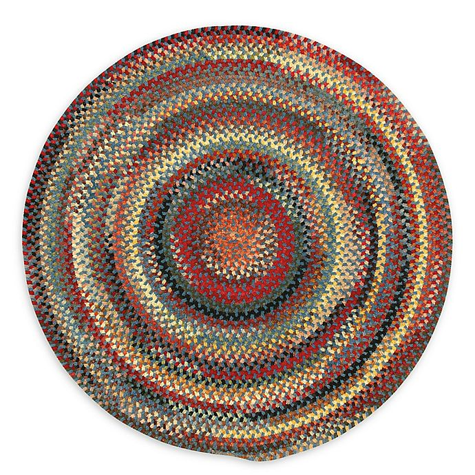 Alternate image 1 for Capel Rugs Eaton Braided 8'6 Round Rug in Blue