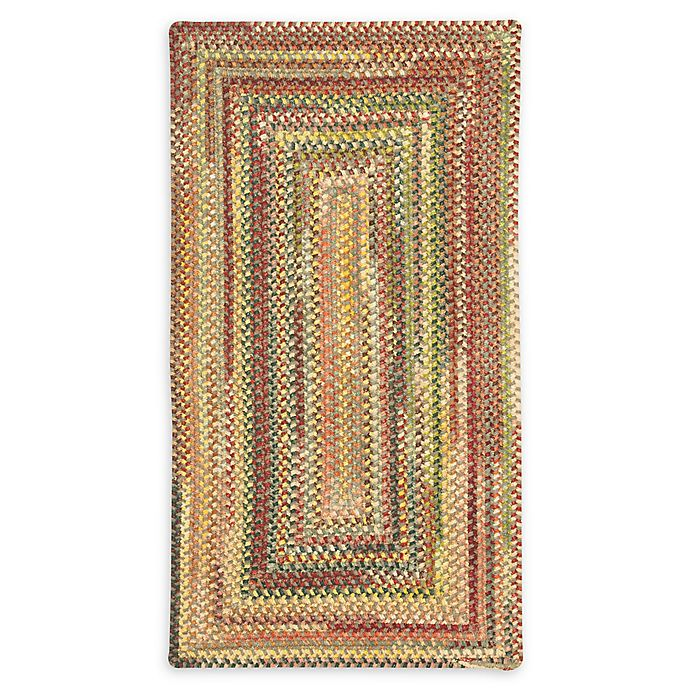 Alternate image 1 for Capel Rugs Eaton Braided 8' x 11' Area Rug in Yellow
