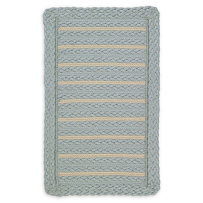 Alternate image 1 for Capel Rugs Boathouse 4'x 6' Indoor/Outdoor Area Rug in Blue