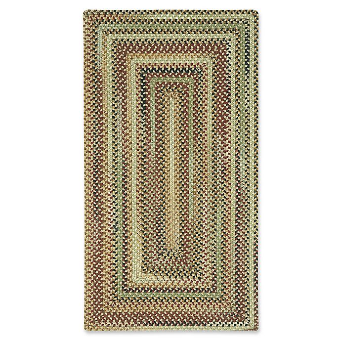Alternate image 1 for Capel Rugs Bangor Concentric Braided 8' x 11' Area Rug in Brown/Beige