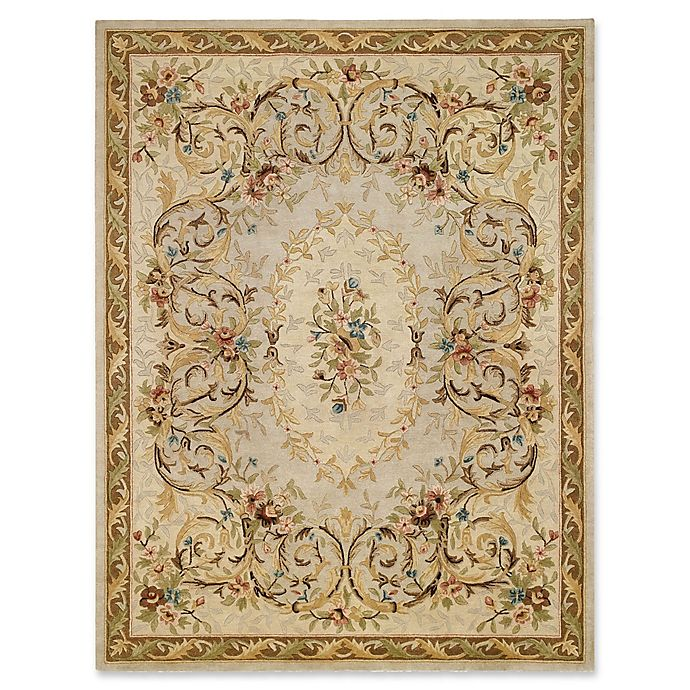 Alternate image 1 for Capel Rugs Evelyn Hand-Tufted 8' x 10' Rug in Beige