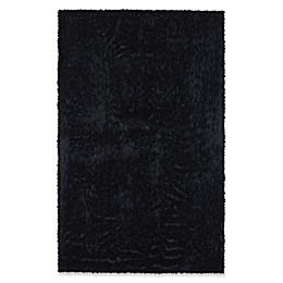 Capel Rugs Cozy Shag Rug in Black
