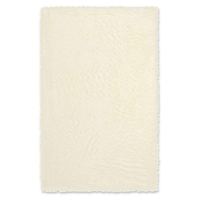 Alternate image 1 for Capel Rugs Cozy Shag 5' x 8' Rug in Cream