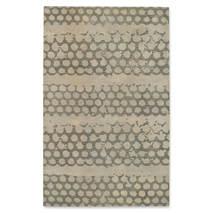 Alternate image 1 for Capel Rugs Bee Hives 4' x 6' Area Rug in Grey