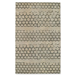 Capel Rugs Bee Hives Rug in Grey