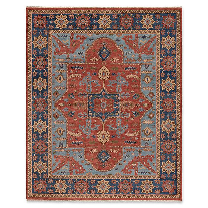Alternate image 1 for Capel Rugs Biltmore Nomad Hand-Knotted 8'6 x 11'6 Area Rug in Red/Blue