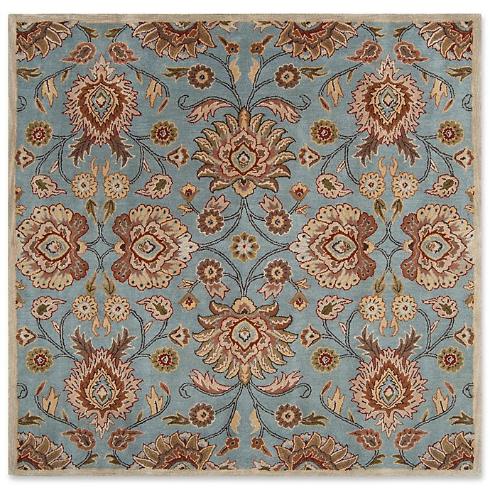 Alternate image 1 for Surya Caesar 4' Square Accent Rug in Grey/Brown