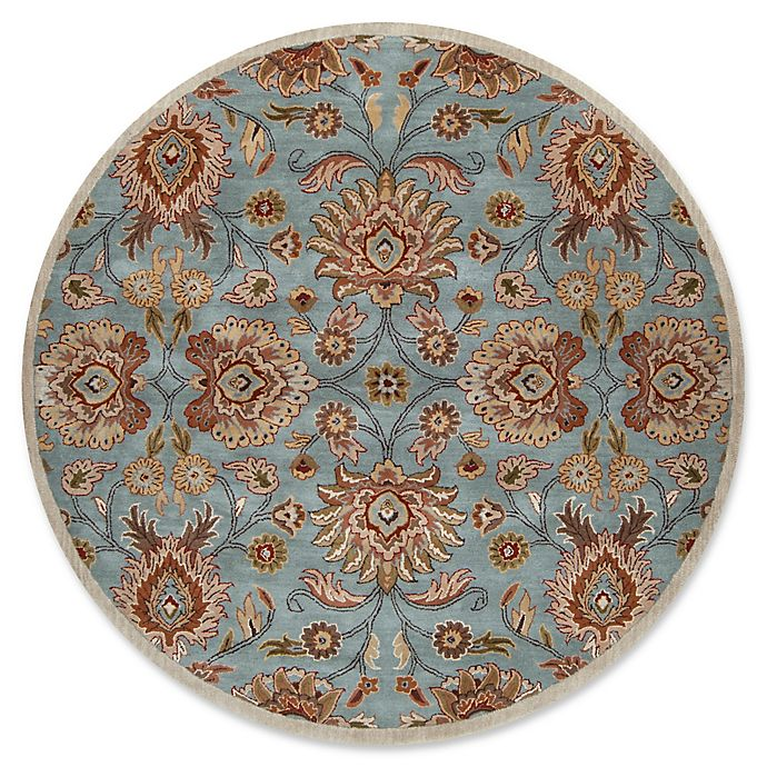 Alternate image 1 for Surya Caesar 8' Round Hand Tufted Area Rug in Grey/Brown
