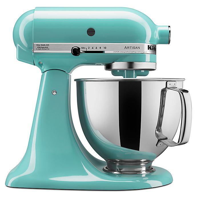 Alternate image 1 for KitchenAid® Artisan® 5 qt. Stand Mixer in Aqua