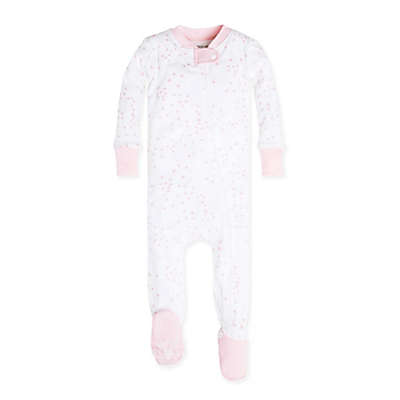 Burt's Bees Baby® Organic Cotton Twinkle Bee Footie in Pink