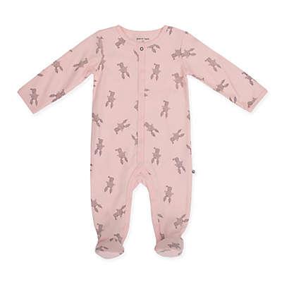 Petit Lem™ Dot Bunny Footie in Pink