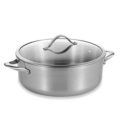 Calphalon® Contemporary Stainless Steel 8-Quart Dutch Oven & Cover