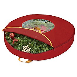 Simplify Wreath Bag in Red