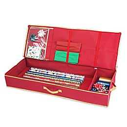 Simplify Gift Wrap Organizer in Red