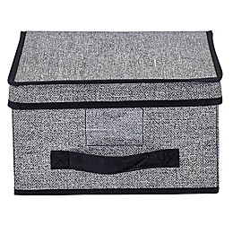 Simplify Medium Storage Box in Black