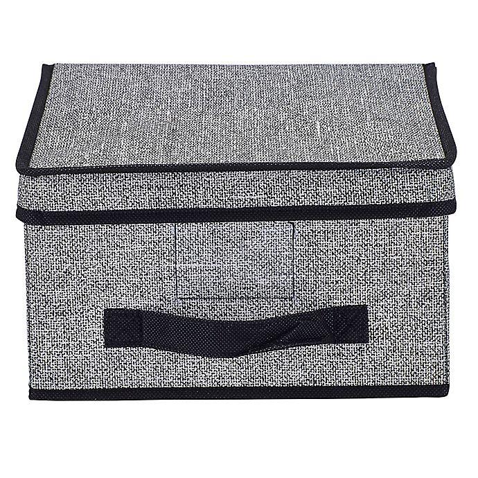 Alternate image 1 for Simplify Medium Storage Box in Black