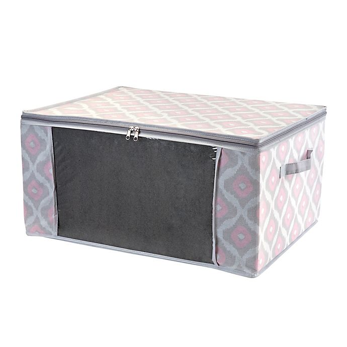 Alternate image 1 for Macbeth Ikat Collection Closet Candie Under-the-Bed 40-Inch x 18-Inch Storage Box