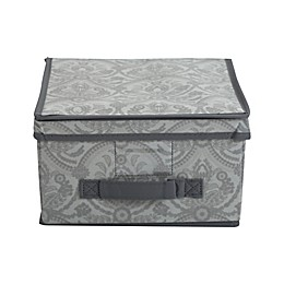 Laura Ashley®  Almeida Non-Woven Medium Storage Box in Grey