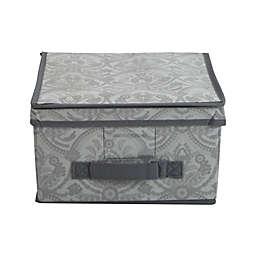 Laura Ashley®  Almeida Non-Woven Medium Storage Box in Grey