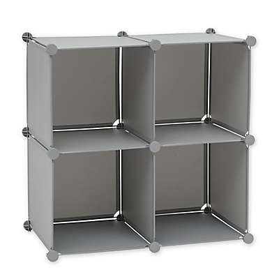 Studio 3B™ Modular Cube Grid in Alloy Grey