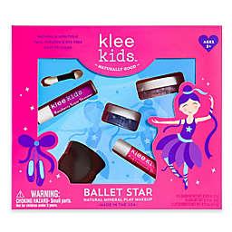 Klee Naturals 4-Piece Ballet Star Natural Mineral Play Makeup Kit