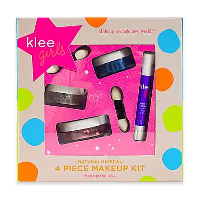 Klee Naturals 4-Piece Shining Through Natural Mineral Play Makeup Kit