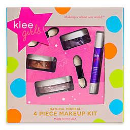 Klee Naturals 4-Piece Glorious Afternoon Natural Mineral Play Makeup Kit