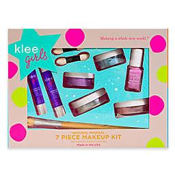 Klee Naturals 7-Piece Up and Away Natural Mineral Play Makeup Kit