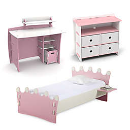 Legare® Princess Kids Furniture Collection in Pink/White