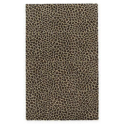 Capel Rugs Expedition Leopard Hand-Tufted Rug in Brown