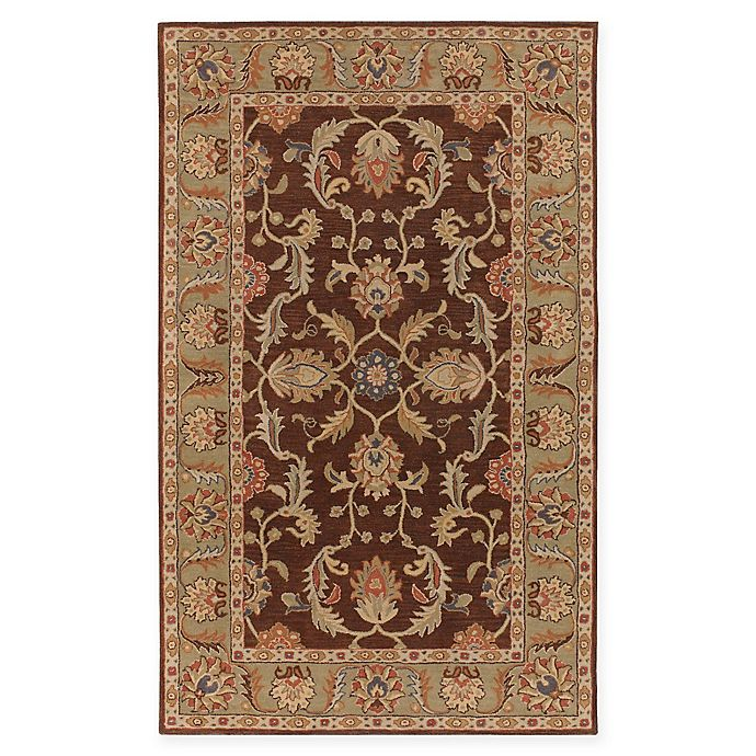 Alternate image 1 for Surya Caesar Vintage-Inspired 6' x 9' Area Rug in Brown/Tan