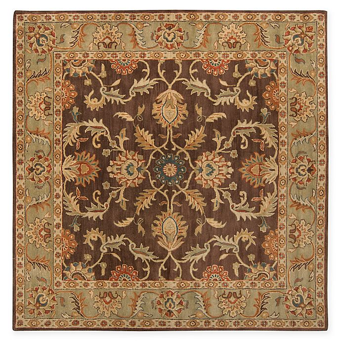 Alternate image 1 for Surya Caesar Vintage-Inspired 8' Square Area Rug in Brown/Tan