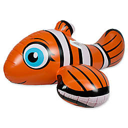 Poolmaster Clown Fish Rider Float in Orange