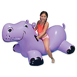 Poolmaster Hippo Rider Float in Purple