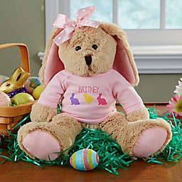 Hop Hop Plush Bunny in Pink