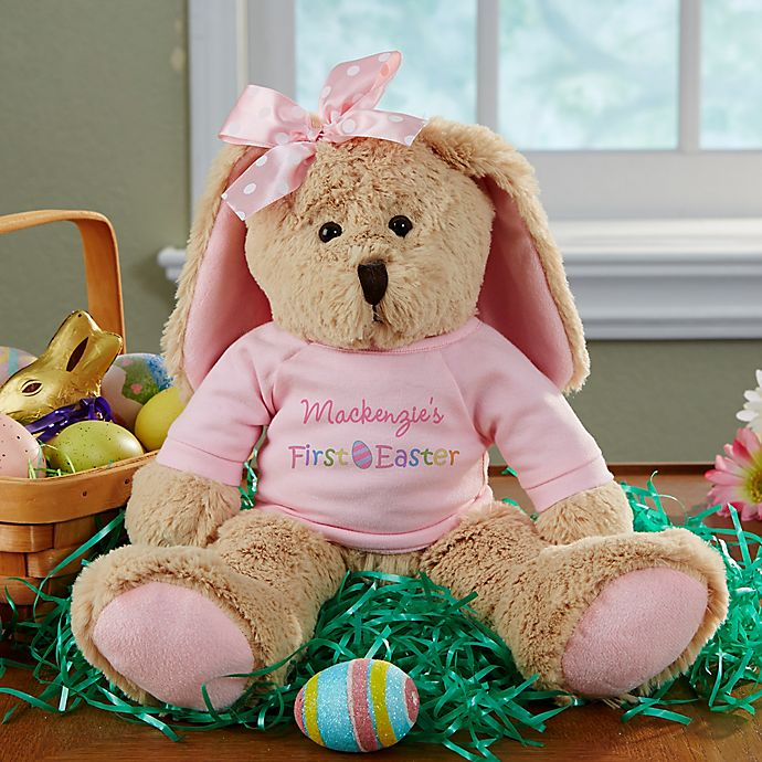 Alternate image 1 for My First Easter Plush Bunny in Pink