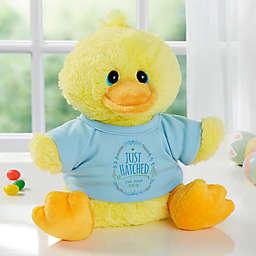 Aurora World Just Hatched Quacking Plush Duck
