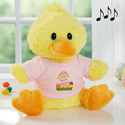 Aurora World Easter Egg Quacking Plush Duck