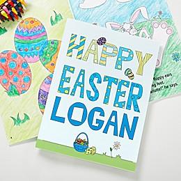 Happy Easter Activity Book & Crayon Set