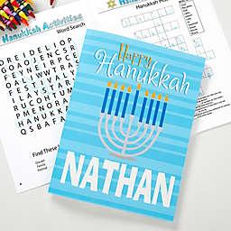 Happy Hanukkah Coloring Activity Book & Crayon Set